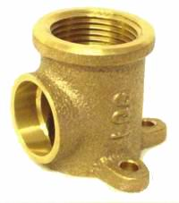 Brass Bracket Elbow 15mmF x 15mmB (Loose)